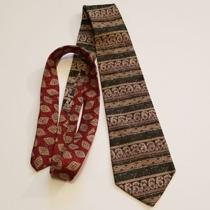 Vintage Tommy Hilfiger Neck Tie Abstract Pattern